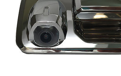 Toyota Tundra Chrome Tailgate Handle with Backup Camera  2014+ - Master Tailgaters