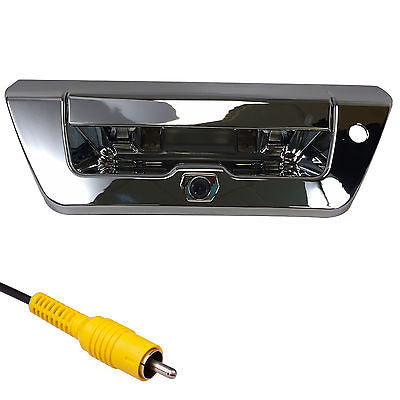 Ford Chrome Tailgate Backup Camera Handle F150 (2015+) - Master Tailgaters