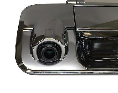 Toyota Tundra Chrome Tailgate Handle with Backup Camera 2007-2013 - Master Tailgaters