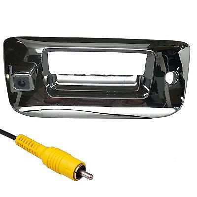 Chevrolet Silverado / GMC Sierra Chrome Tailgate Handle Color Backup Camera 2007-2013 - Master Tailgaters