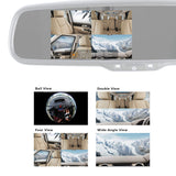 "Master Tailgaters OEM Rear View Mirror with Ultra Bright 4.5"" Auto Adjusting Brightness LCD + HD 1080p DVR 360° Recorder - Universal Fit"