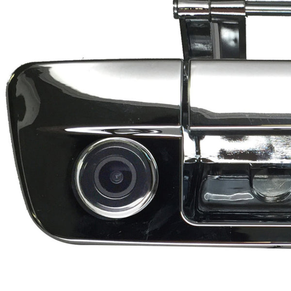 Dodge Ram Chrome Tailgate Handle with Color Backup Camera 2013-2015 - Master Tailgaters