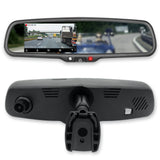"Master Tailgaters 4.3"" LCD Rear View Mirror with 1080P 30fps HD DVR Dual Way Video Recorder - Master Tailgaters"