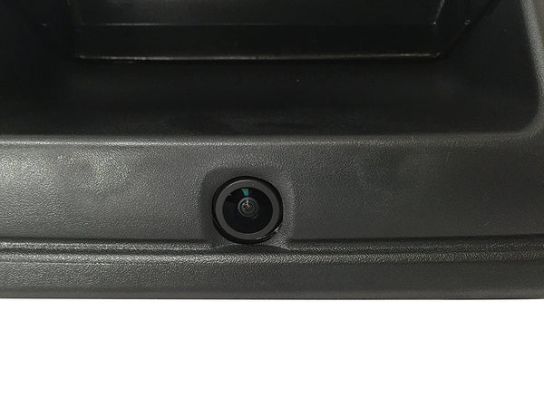 2015-2018 Chevrolet Colorado Black Tailgate Handle with Backup Camera