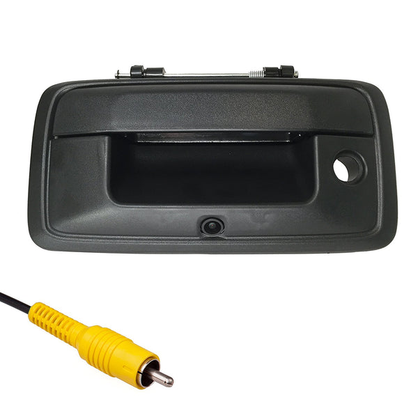 2015-2018 Chevrolet Colorado Black Tailgate Handle with Backup Camera - Master Tailgaters