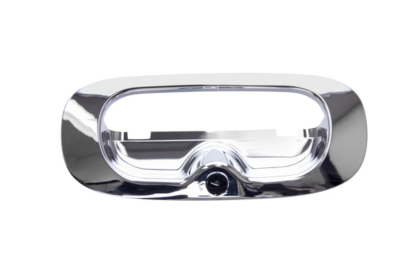 Dodge Dakota 1997-2011 Chrome Tailgate Replacement Bezel with Camera