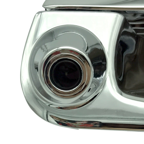 Master Tailgaters Ford 1997-2007 F150 F250 F350 F450 F550 Tailgate Backup Reverse Handle with Camera (Chrome)