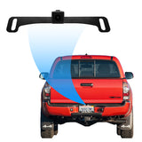 Master Tailgaters Small License Plate Frame Backup or Front Camera with IP68 Waterproof, and 170° Wide Angle Camera