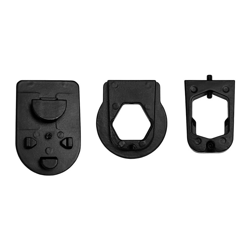 Rear View Mirror Three Metal Bracket Adapters for Volkswagen, Audi, Dodge, Ford, Honda