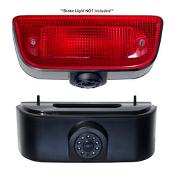Master Tailgaters Third Brake Light Bracket and Backup Camera Replacement for 2013-Current Nissan NV200 and Chevrolet City Express Cargo Van