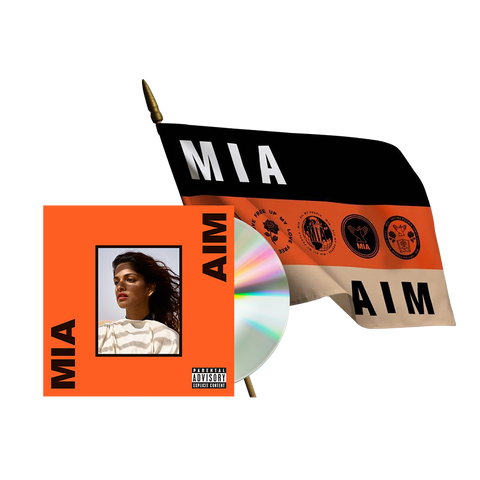 AIM Deluxe CD + Flag