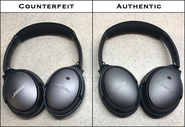 How to spot a counterfeit QuietComfort 25 headphone. – UFlyMike