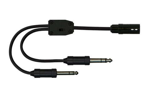 Cable Adapters, Aviation, for LEMO Headsets