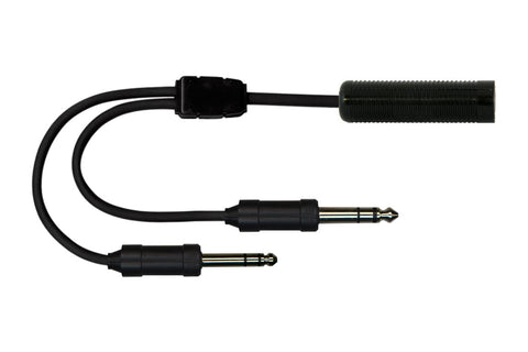 Cable Adapters, Aviation, for U-174/U Headsets