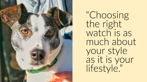 H Goose says choosing the right watch is about your style and your lifestyle.