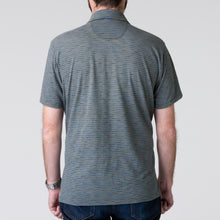Load image into Gallery viewer, Harbor Polo - Indigo & Olive
