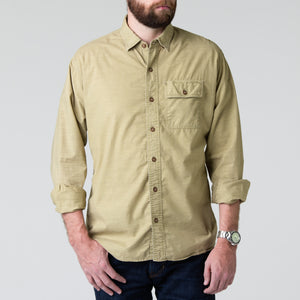 Quinn Work Shirt - Khaki