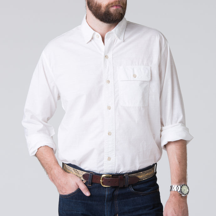 Quinn Work Shirt - White