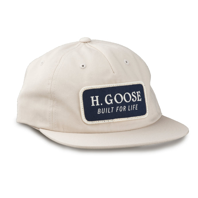 Boat Hat - White/Navy