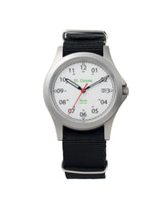 Load image into Gallery viewer, 39mm White Dial Saluda Field Watch