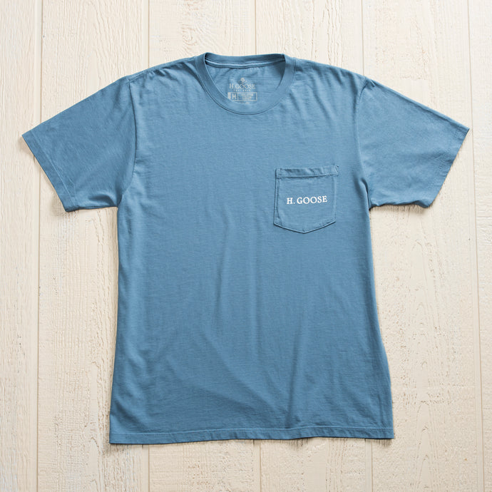Signature Pocket T-Shirt - Slate
