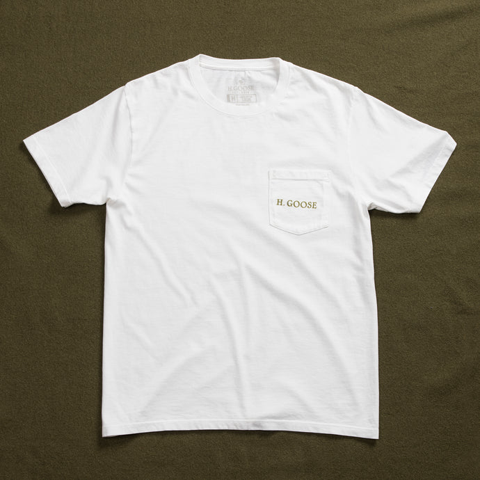 Signature Pocket T-Shirt - White
