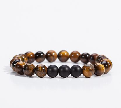 Natural Stone Bracelet Brown