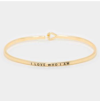 """I love who I am"" Bracelet"