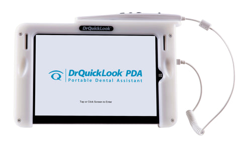 DrQuickLook Intraoral Camera PDA Tablet with Patient Education Videos and 10.8