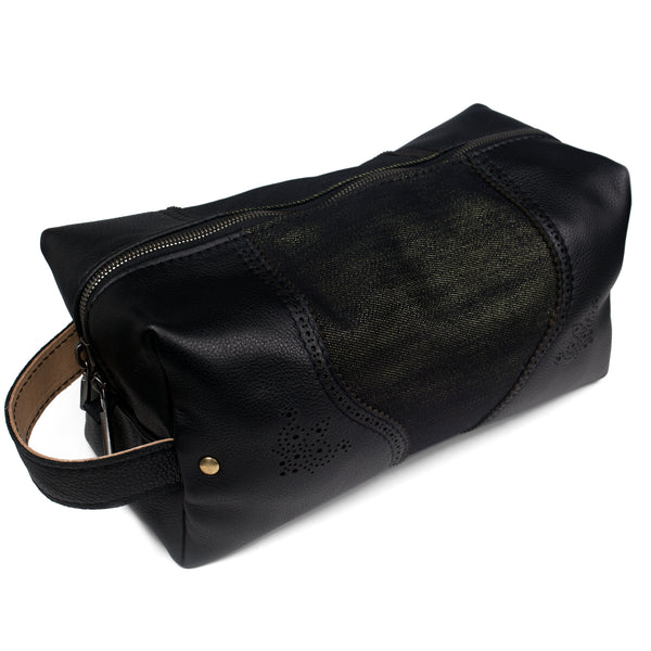 Suited & Booted Dopp Kit - Black Out Kevlar