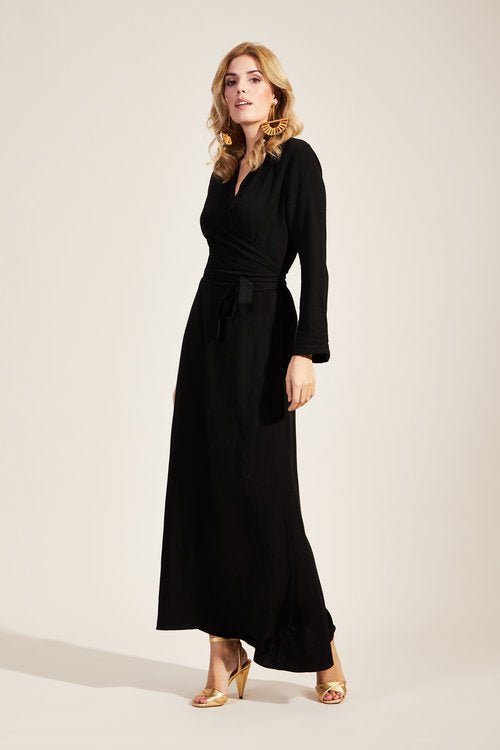 Alexi Dress Black/ House of Lancry