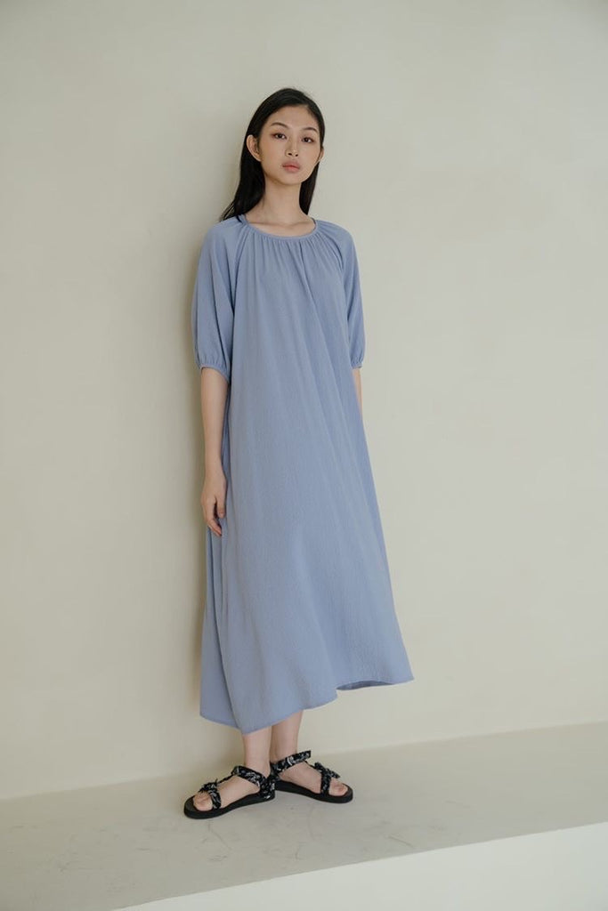 Flash Dress  - Skyblue