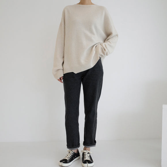 Unbal Pullover - Oatmeal