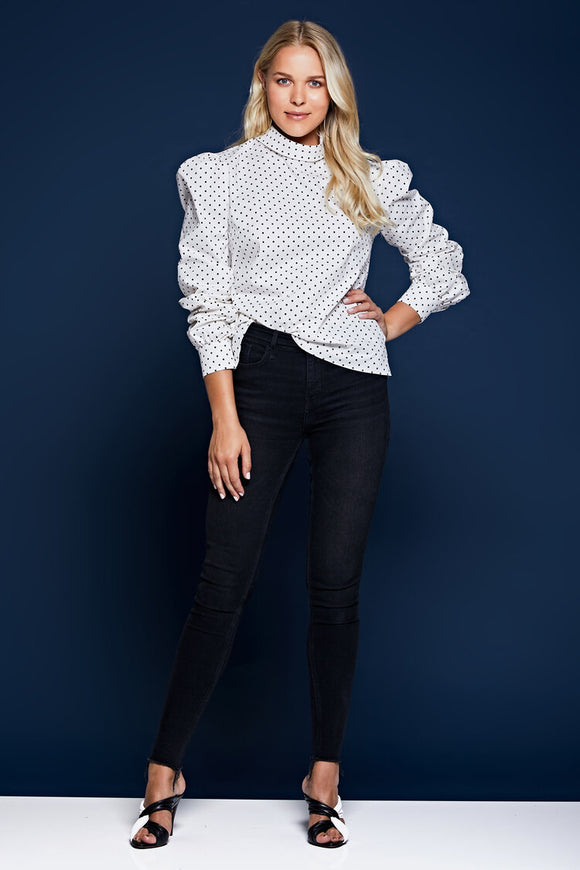 Amalia - Cotton Poplin Blouse