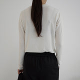 Atto Long Sleeve Top - Black