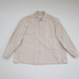 Monaco Shirring Button down - Beige