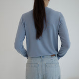 Atto Long Sleeve Top - Blue