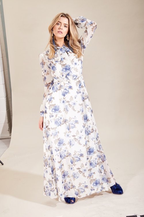 Alice Summer Floral/ Blue