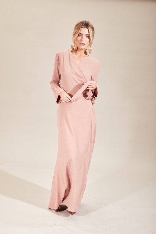 Alexi Dress Pink/ House of Lancry