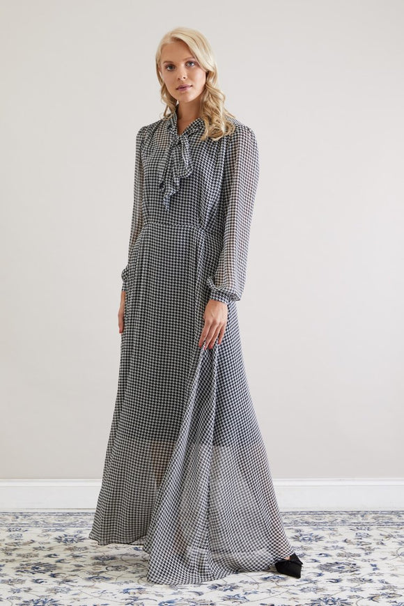 Alice Dress/ Houndstooth