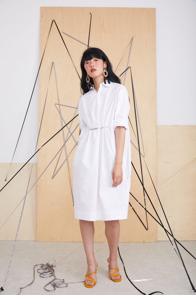 Andi Dress / White