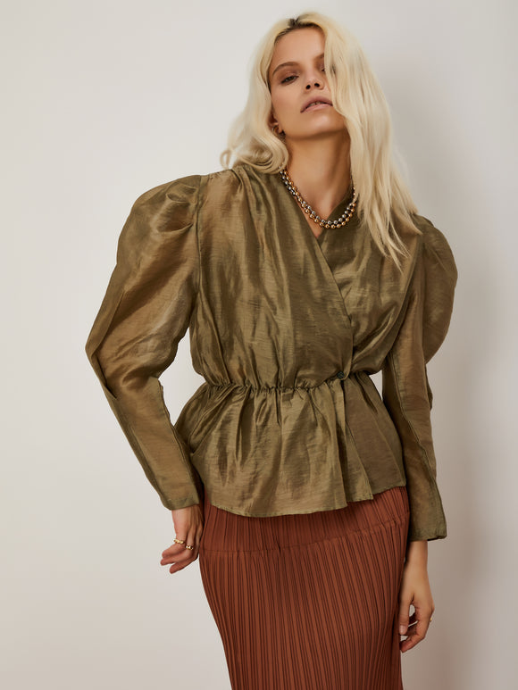 Bronze Goddess Blouse