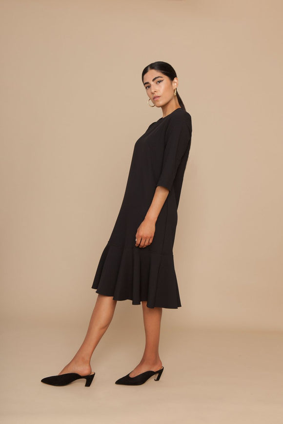 Milka Dress/ Black