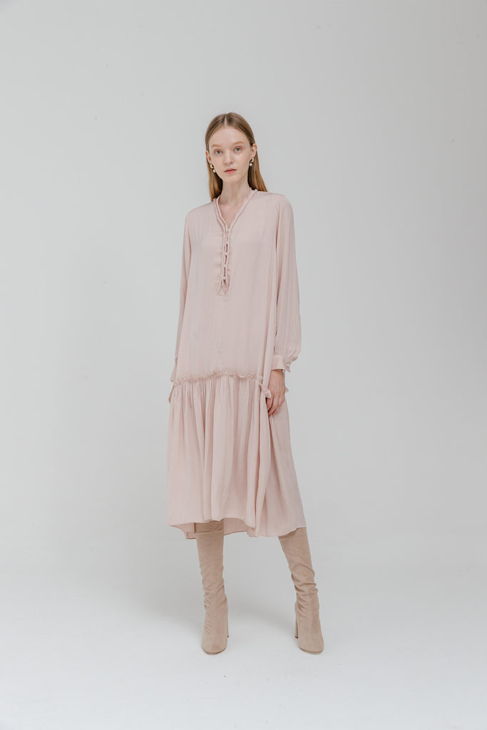 Margine Dress - Blush