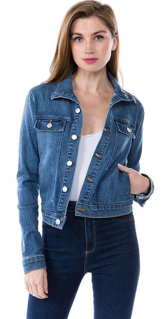 Malibu Jacket by Seventwo Denim/ Medium Wash
