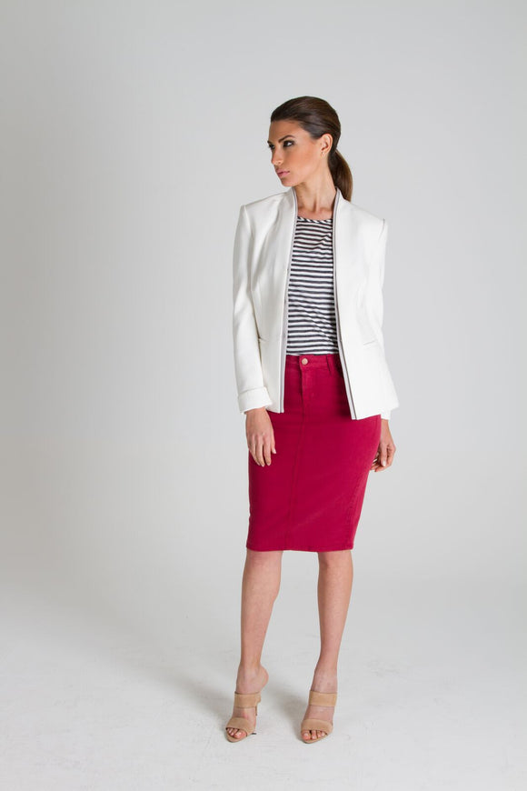 Cherry Pencil Skirt