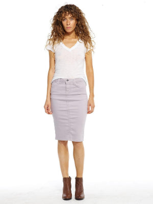 Cement Pencil Skirt