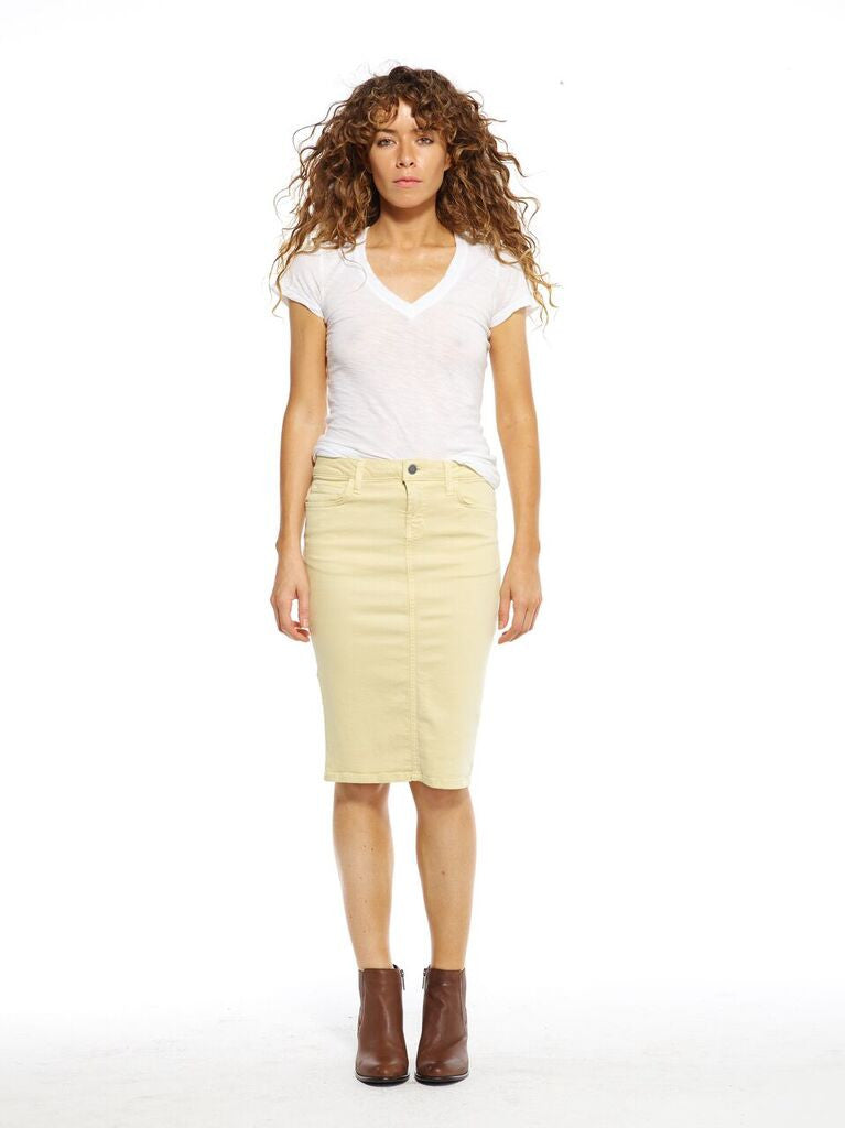 Banana Pencil Skirt