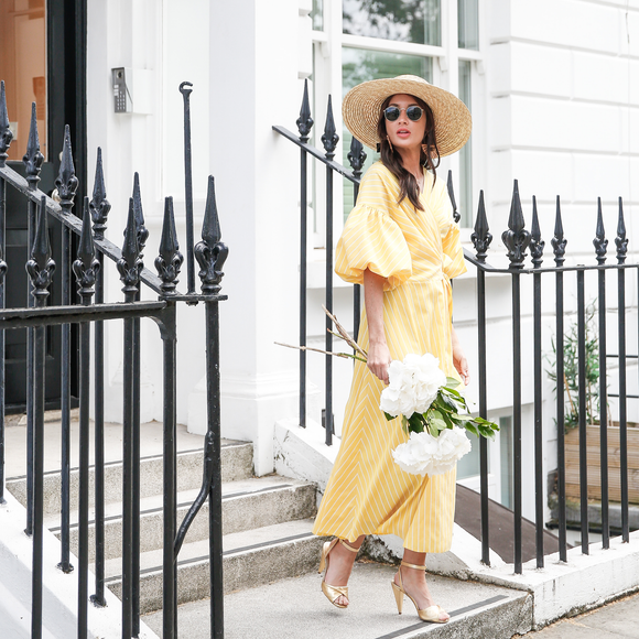 Yellow Olivia Dress