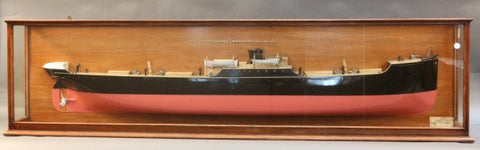 "Lot 119 - Builder's Model of Cargo Vessel ""SS Mount Olivet"""